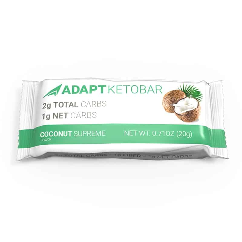 Keto-Bar-Wrapper coconut bars-Supreme