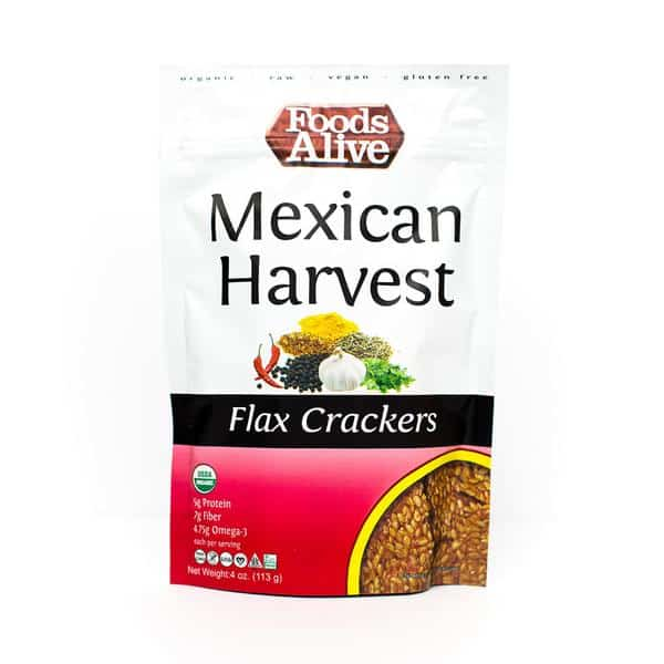 Mexican-Harvest-Flax-Keto Crackers