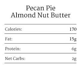 Pecan Pie Almond Nut Butter2
