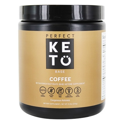 Base Exogenous Keto Powder Coffee