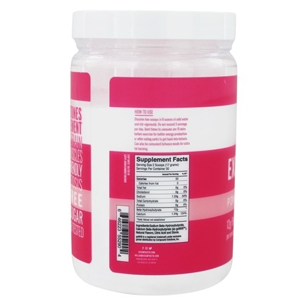 Exogenous Ketones lemonade powder