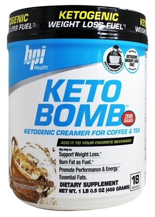Keto Bomb Ketogenic Weight Loss Fuel caramel macchiato