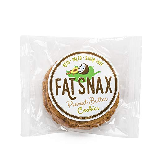 Fat Snax Cookies-Butter, 6-pack -12 cookies