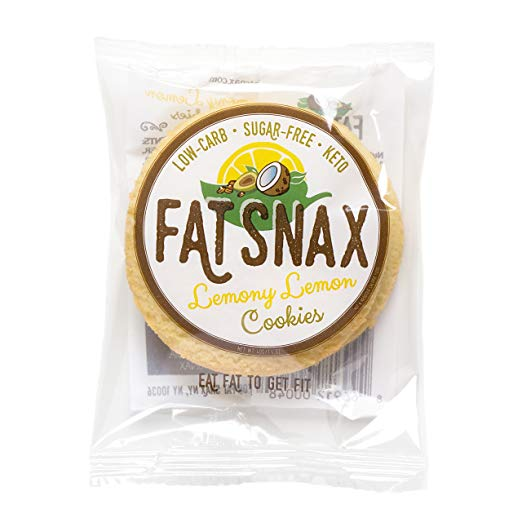 Fat Snax Cookies-lemoney lemon 1