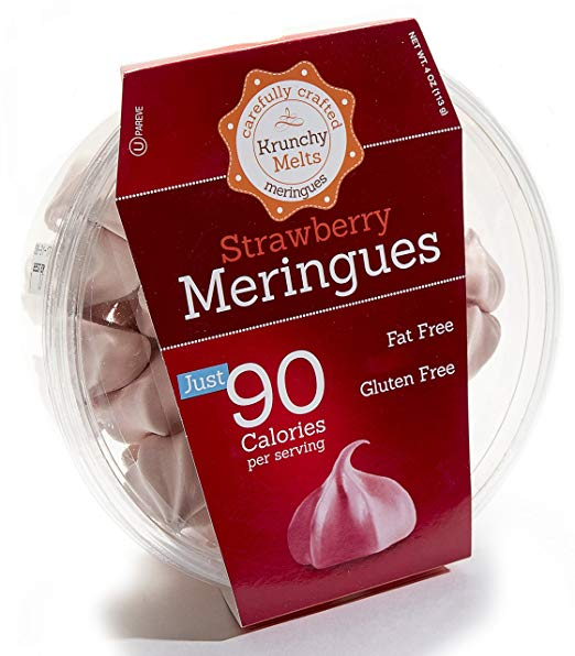 Original Meringue Cookies– Strawberry Flavor