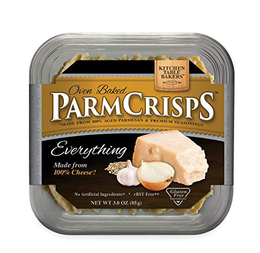 ParmCrisps Everything Flavor Real Parmesan Cheese