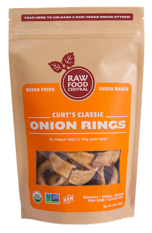 Raw Food -OnionRings