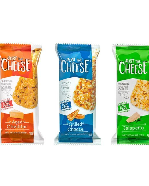 Just The Cheese - Aged Cheddar Bars - 12 Two-Bar Packs 1
