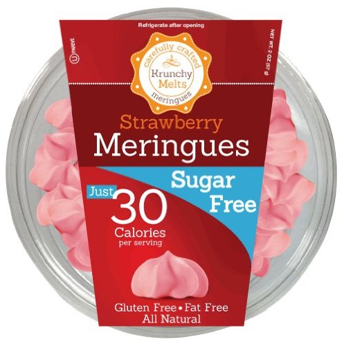 Meringues – Strawberry Flavor