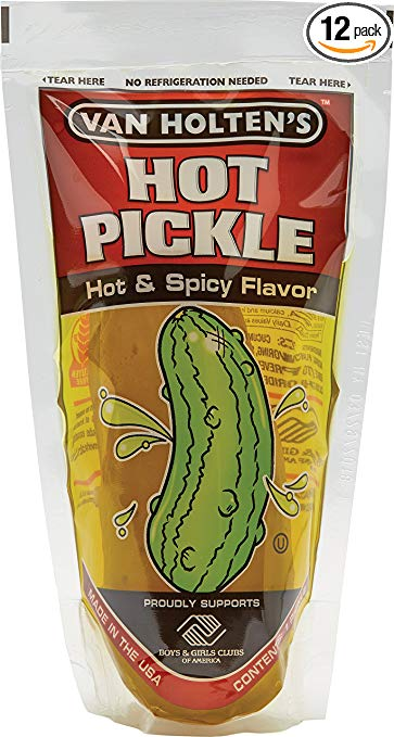 Van Holten's - Pickle-In-A-Pouch Jumbo Hot Pickles