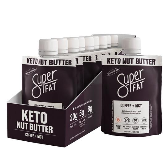 SuperFat Coffee + MCT Nut Butter – (Box of 10)