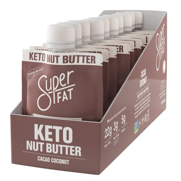 SuperFat Cacao Coconut Nut Butter – (Box of 10)