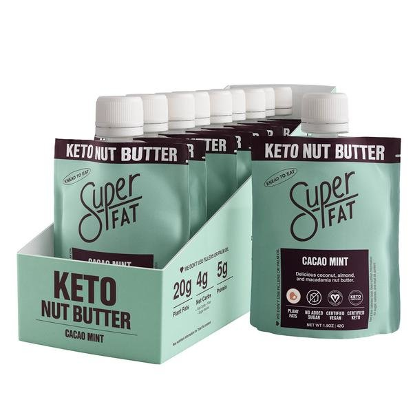 SuperFat Cacao Mint Nut Butter – (Box of 10)