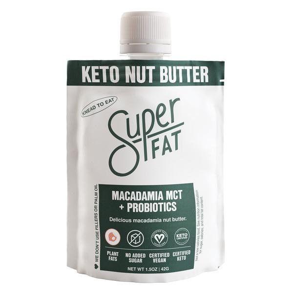 SuperFat Macadamia MCT + Probiotics Nut Butter – (Box of 10)