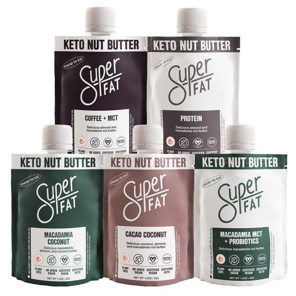 SuperFat Nut Butter Variety Box – (Box of 10)